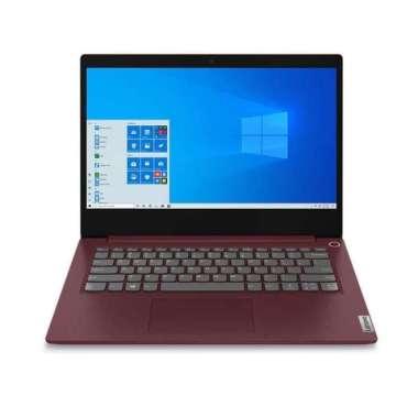harga Lenovo IdeaPad Slim 3i-14IIL05-81WD00RCID/Core i3-1005G1/4GB/256GB SSD/14 inch/Windows 10 Home+OHS 2019/Cherry Red CHERRY RED Blibli.com