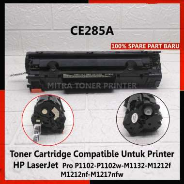 harga Toner Cartridge Best Quality CE285A, Printer HP LaserJet P1102/M1232/M1212 hitam Blibli.com