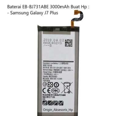 harga Original Baterai EB-BJ731ABE Buat Handphone Samsung Galaxy J7 Plus Blibli.com