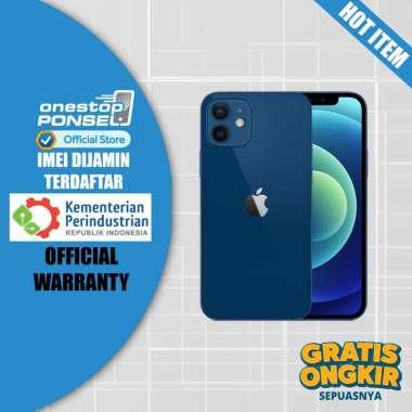 harga Apple iPhone 12 Mini 64GB - Garansi Apple Internasional - New BNIB BLUE Blibli.com