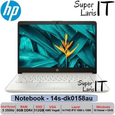 harga HP Laptop Gaming 14s DK0158AU Ryzen 5 3500 8GB 512GB Vega8 14