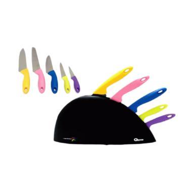 Oxone Rainbow Knife Set Pisau Ox 606 Terbaru di Kategori Home Living | Blibli.com