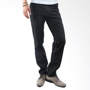 2Nd RED FS Long Pants Denim 121115A Celana Pria - Black