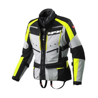Spidi 4 Season Jaket Motor - Yellow Fluo