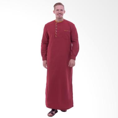 Zaidan Gamis Galabiya jubah - Merah Marun GM0052017