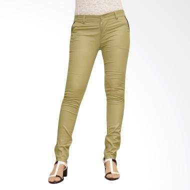 Adore Ladies Celana Panjang Chino - Green