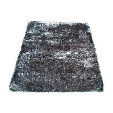 Tren-D-rugs - Karpet Cendol Mengkilat - Grey [150 x 200 cm]