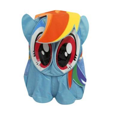 Evelyn tas sekolah anak TK- SD My Little Pony Backpack - Air Blue