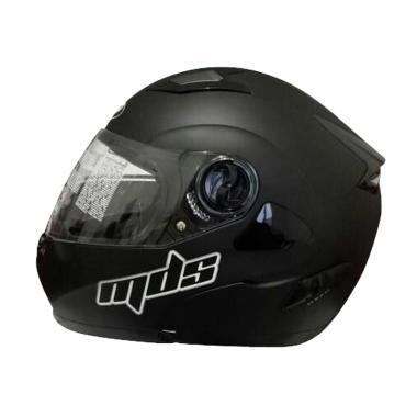 harga MDS Pro Rider Modular Helm Motor - Black Doff Blibli.com