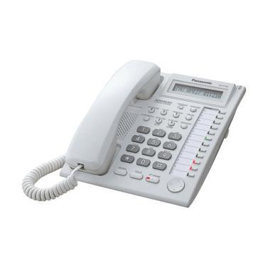 Telepon Kabel Single Line Panasonic ... hone Kantor Rumah - WHITE