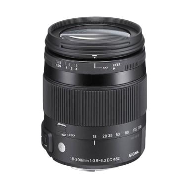 Sigma Lensa 18-200mm F/3.5-6.3 DC Macro OS HSM (C) for Canon
