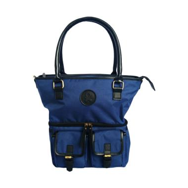 BabyGo Inc Classic Tote Cooler Bag - Biru