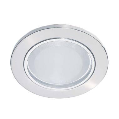 Philips 13804 Glass Recessed Lampu Plafon - Nickel [18 W/230 V]