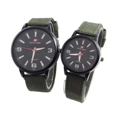 New Swiss Army SA3552 Jam Tangan Couple 831012