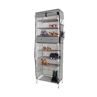 Anya-Living RSL 109 - 10T+2D - Shoe Rack - Grey
