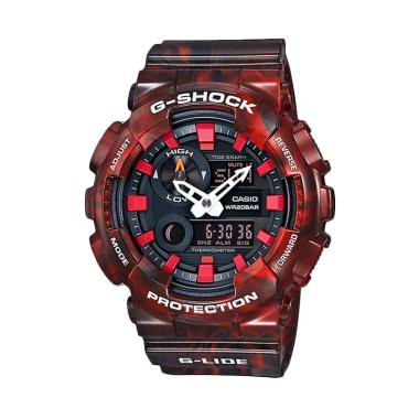 CASIO G-SHOCK GAX-100MB-4A G-Lide Jam Tangan Pria - Red