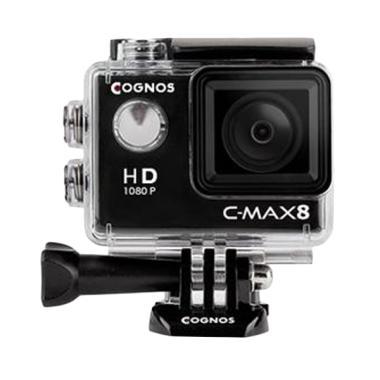 Cognos Cygnus Action Camera - Hitam [12 MP/1080p]
