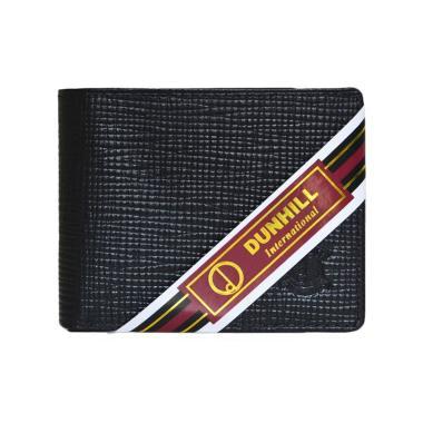 Dunhill 157 Kulit Dompet Pria - Hitam Lidi