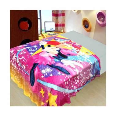 NB Minnie Stunning Selimut Bulu - Pink [150 x 200cm]