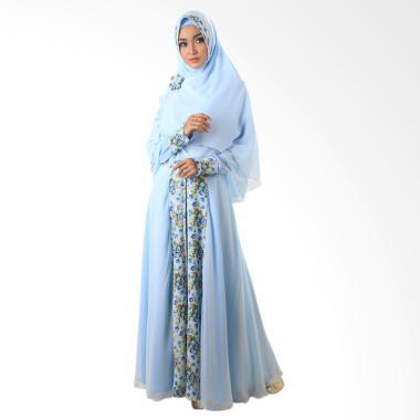 NWS Moeslem Dress Annasya 10 - Biru
