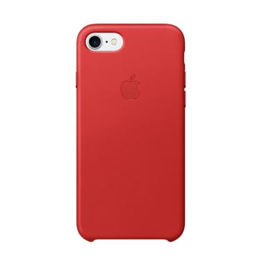 Apple Original Leather Casing for iPhone 7 - Red