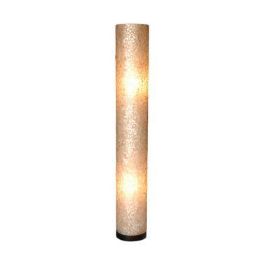 De Erniest Bulat New Viona Lampu Lantai - Putih