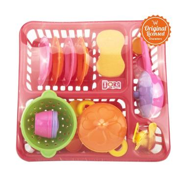 Dora Kitchen Set 05 - Yellow [One Size]
