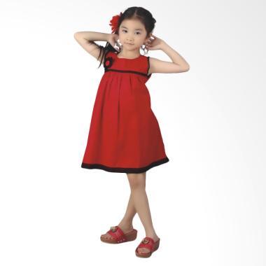 Syaqinah 310 Pakaian Anak Perempuan - Merah