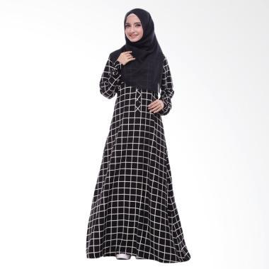 Valisha Squari One Dress Muslim - Black