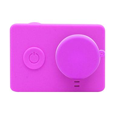 Xiaomi Yi Silicone Case and Lens Cap - Pink