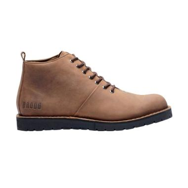 Brodo Boots Casual Boot Sepatu Pria - Tan