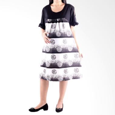 HMILL Dress 1164 Baju Hamil Menyusui - Putih