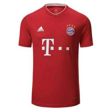 harga Kaos Jersey bola BAYERN MUNCHEN home 2020-2021 L merah Blibli.com