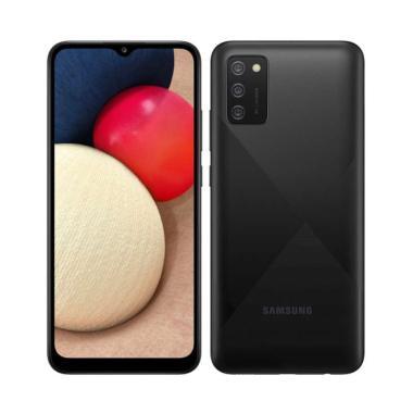 Samsung Galaxy A02S Smartphone [3/32GB] Garansi Resmi BLACK