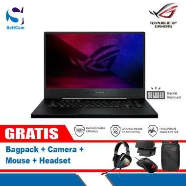 harga Asus ROG Zephyrus M15 GU502LV-I7R6C8T Laptop Gaming [Core i7-10750H/16GB/1TB SSD/VGA 6GB/15.6″/Win 10 Home] Black Blibli.com