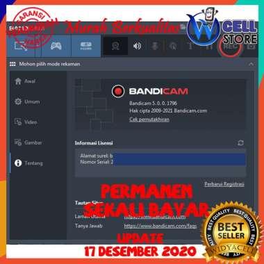 harga SOFTWARE / PROGRAM / APLIKASI REKAM VIDEO GAMING BANDICAM TERBARU 2020 Blibli.com