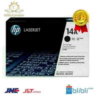 harga Toner HP LaserJet 14A Black CF214A Original - HITAM Blibli.com