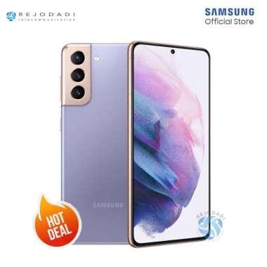 SAMSUNG Galaxy S21 5G [8/256GB] - Garansi Resmi SEIN Phantom Violet