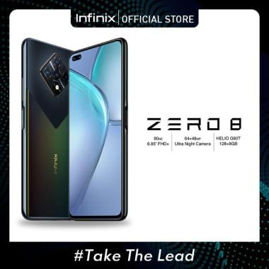 harga Infinix Zero 8 Smartphone [128 GB/ 8 GB/ D] + Free Star Wars Stormtrooper 2 in 1 Micro USB & Lightning Kabel Data Black Diamond Blibli.com