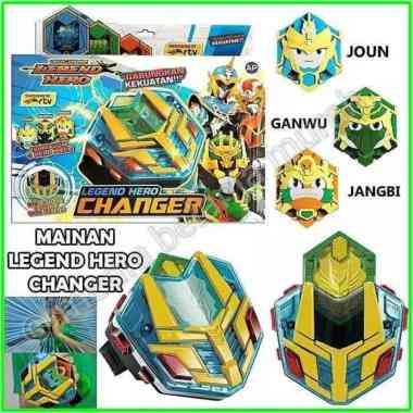 harga NEW Legend Hero Changer efek suara dan lampu mainan jam tangan keren anak serial RTV Original Blibli.com