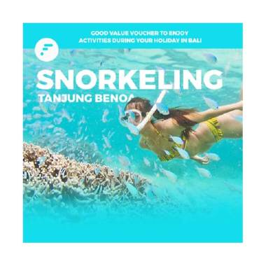 Weekend Deal - FitAccess Snorkeling Voucher di Tanjung Benoa