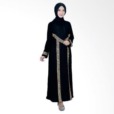 Azzura 342-46 Gamis Muslimah Casual Wanita - Hitam