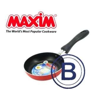 New Sale Maxim – Valentino Nonstick Frypan-Wajan Gg Satu Teflon (12Cm - 26Cm) - 12 Cm Cuci Gudang