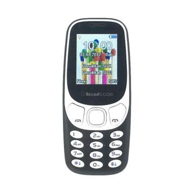 Brandcode B3310 Handphone��- Hitam [Dual Sim GSM]