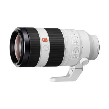 Sony FE 100-400mm F4,5-5,6 GM OSS Lensa Kamera - White