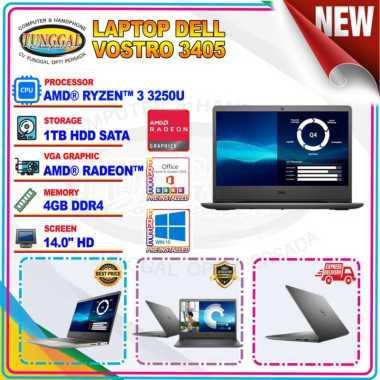 harga Laptop DELL Vostro 3405 Ryzen 3 3250U 4GB 1TB 14