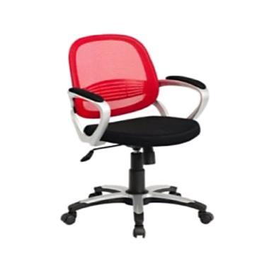 F.O Plaza Furniture 869 S Fabric Kusi Kantor - Red [Jabodetabek]