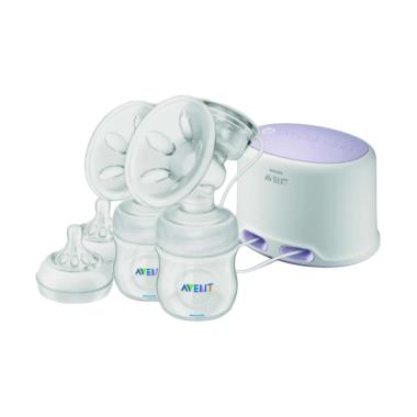 Philips Avent SCF334-02 Natural Twin Breastpump Electric