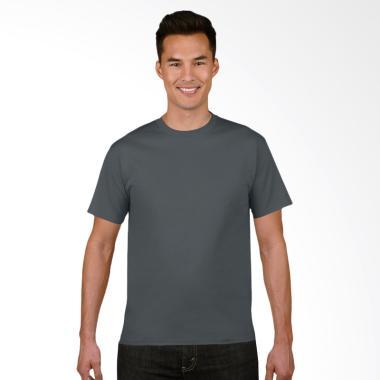 Gildan Original SoftStyle T-Shirt Pria - Charcoal