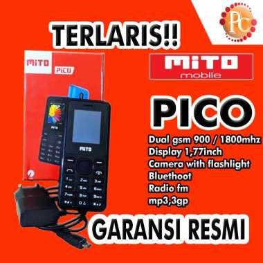 harga HP MITO PICO CANDYBAR - DUAL SIM - MAGIC VOICE - CAMERA - FM RADIO - GARANSI RESMI Blibli.com